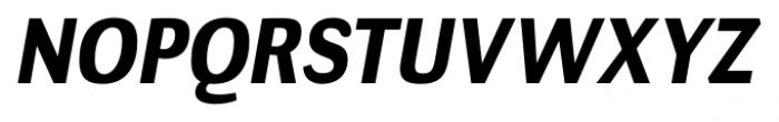 Negotiate Bold Italic Font UPPERCASE
