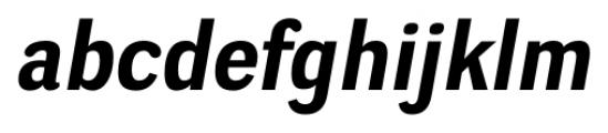 Negotiate Bold Italic Font LOWERCASE
