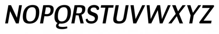 Negotiate Regular Italic Font UPPERCASE