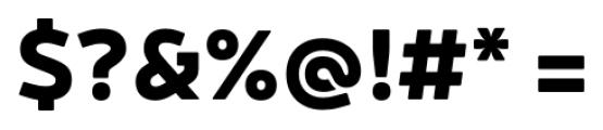 Neris Black Font OTHER CHARS