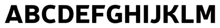 Neris Black Font UPPERCASE
