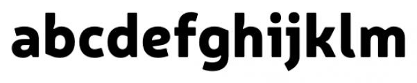 Neris Black Font LOWERCASE