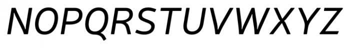 Neris Italic Font UPPERCASE