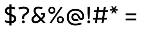 Neris Regular Font OTHER CHARS