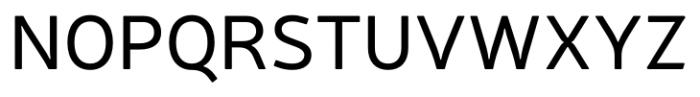 Neris Regular Font UPPERCASE