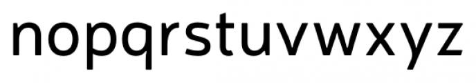 Neris Regular Font LOWERCASE