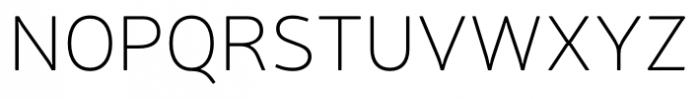 Neris Thin Font UPPERCASE