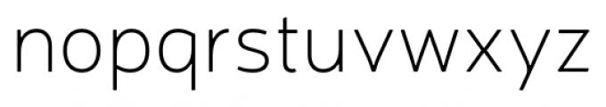Neris Thin Font LOWERCASE