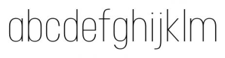 Neusa Light Font LOWERCASE