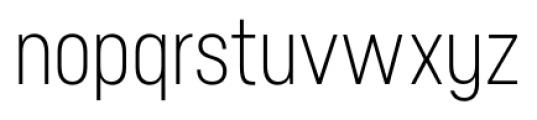 Neusa Regular Font LOWERCASE