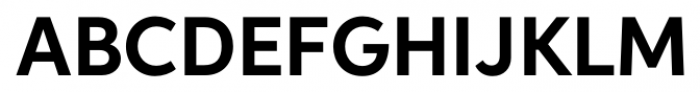 Neutro Bold Font UPPERCASE