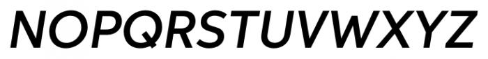 Neutro Demi Italic Font UPPERCASE
