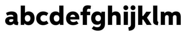 Neutro Heavy Font LOWERCASE
