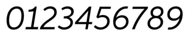 Neutro Italic Font OTHER CHARS