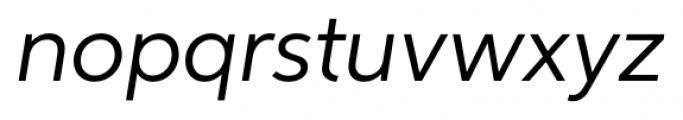 Neutro Italic Font LOWERCASE