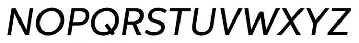Neutro Medium Italic Font UPPERCASE