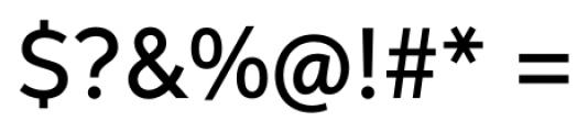 Neutro Medium Font OTHER CHARS