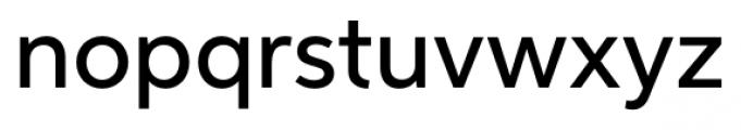 Neutro Medium Font LOWERCASE