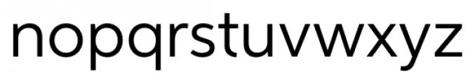 Neutro Regular Font LOWERCASE