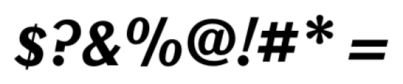 New Millennium Bold Italic Font OTHER CHARS