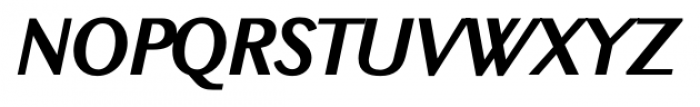 New Millennium Bold Italic Font UPPERCASE