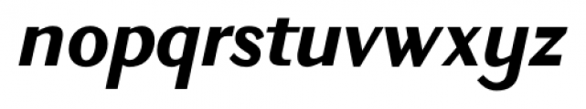 New Millennium Bold Italic Font LOWERCASE