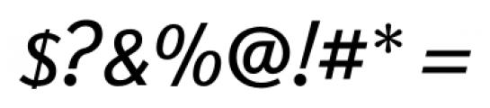 New Millennium Linear Oblique Font OTHER CHARS