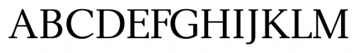 New Millennium Regular Font UPPERCASE