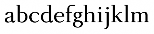 New Millennium Regular Font LOWERCASE