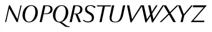 New Millennium Sans Italic Font UPPERCASE