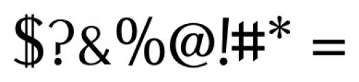New Millennium Sans Regular Font OTHER CHARS