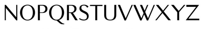 New Millennium Sans Regular Font UPPERCASE