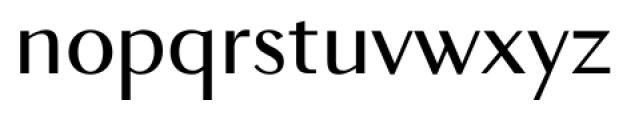 New Millennium Sans Regular Font LOWERCASE