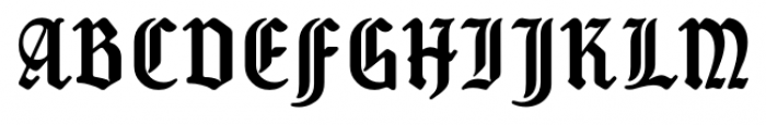 New Old English Regular Font UPPERCASE