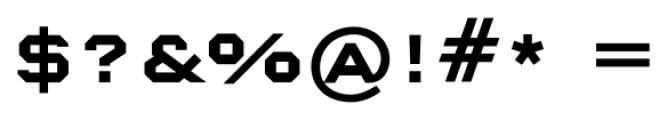 Nexstar Bold A Font OTHER CHARS