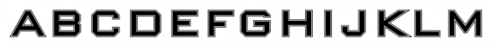 Nexstar Bold B Font UPPERCASE