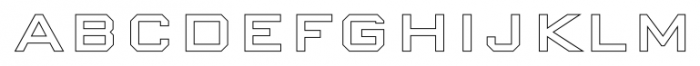 Nexstar Bold D Font UPPERCASE
