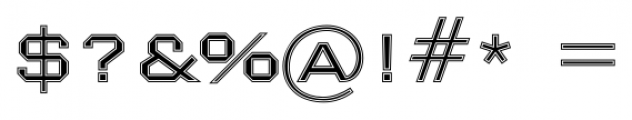 Nexstar Light B Font OTHER CHARS