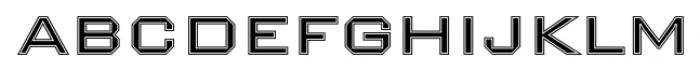 Nexstar Light B Font LOWERCASE