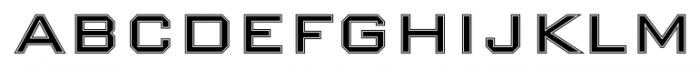Nexstar Roman B Font UPPERCASE