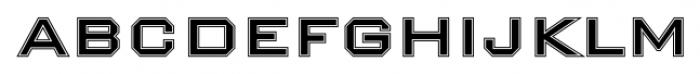 Nexstar Roman B Font LOWERCASE