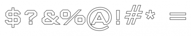 Nexstar Roman C Font OTHER CHARS