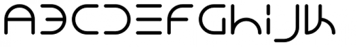 NEON CLUB MUSIC Bold Font LOWERCASE