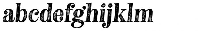 Neato Serif Rough Italic Font LOWERCASE