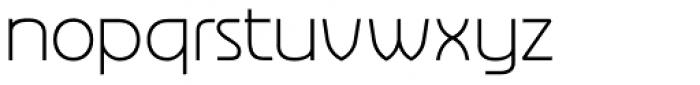 Nebbiolo Light Font LOWERCASE