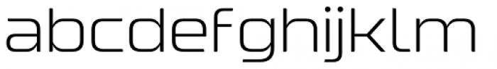 Nebulosa Regular Font LOWERCASE