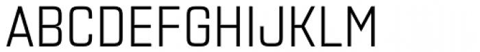 Necia Regular Font UPPERCASE