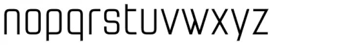 Necia Regular Font LOWERCASE