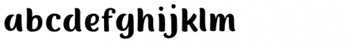 Nefelibata Sans Font LOWERCASE