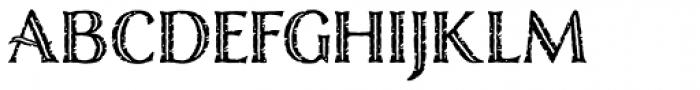 Nelson Engraved Basic Font LOWERCASE